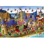 Puzzle  Grafika-Kids-00882 Magnetic Pieces - François Ruyer: Witch