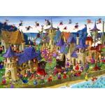 Puzzle  Grafika-Kids-00883 XXL Pieces - François Ruyer: Witch
