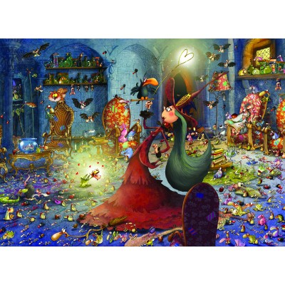Puzzle Grafika-Kids-00884 François Ruyer: Witch