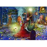 Puzzle  Grafika-Kids-00887 Magnetic Pieces - François Ruyer: Witch