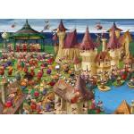 Puzzle  Grafika-Kids-00892 Magnetic Pieces - François Ruyer: Witches