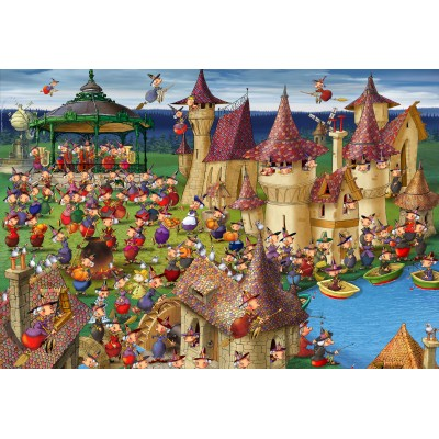Puzzle Grafika-Kids-00893 XXL Pieces - François Ruyer: Witches
