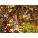 Puzzle  Grafika-Kids-00894 François Ruyer: Witch