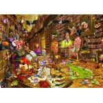Puzzle  Grafika-Kids-00897 Magnetic Pieces - François Ruyer: Witch
