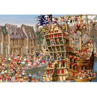 Puzzle Grafika-Kids-00900 François Ruyer: Pirates
