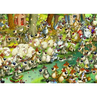Puzzle Grafika-Kids-00916 François Ruyer: Wolves!