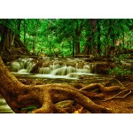 Puzzle  Grafika-Kids-00928 Magnetic Pieces - Waterfall in Forest