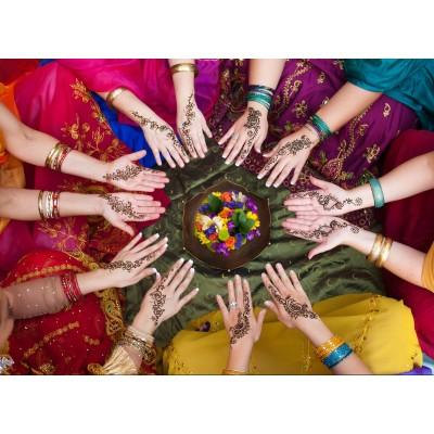 Puzzle Grafika-Kids-00974 Indian Women