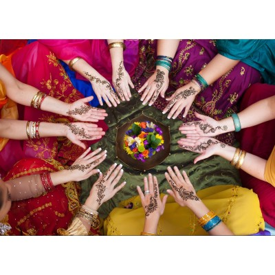 Puzzle Grafika-Kids-00976 Indian Women