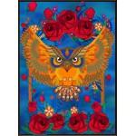 Puzzle  Grafika-Kids-00989 Owl & Roses