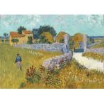 Puzzle  Grafika-Kids-00993 Magnetic Pieces - Vincent Van Gogh - Farmhouse in Provence, 1888