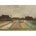 Puzzle  Grafika-Kids-01005 Magnetic Pieces - Vincent Van Gogh - Flower Beds in Holland, 1883