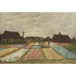 Puzzle  Grafika-Kids-01007 XXL Pieces - Vincent Van Gogh - Flower Beds in Holland, 1883