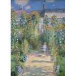 Puzzle  Grafika-Kids-01019 Claude Monet - The Artist's Garden at Vétheuil, 1880