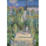 Puzzle  Grafika-Kids-01020 XXL Pieces - Claude Monet - The Artist's Garden at Vétheuil, 1880