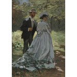 Puzzle  Grafika-Kids-01021 Claude Monet - Bazille and Camille, 1865