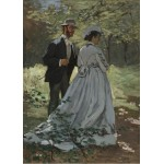 Puzzle  Grafika-Kids-01022 Magnetic Pieces - Claude Monet - Bazille and Camille, 1865