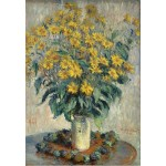 Puzzle  Grafika-Kids-01025 Claude Monet - Jerusalem Artichoke Flowers, 1880