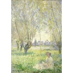 Puzzle  Grafika-Kids-01029 Claude Monet - Woman Seated under the Willows, 1880