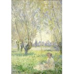 Puzzle  Grafika-Kids-01032 XXL Pieces - Claude Monet - Woman Seated under the Willows, 1880