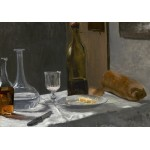 Puzzle  Grafika-Kids-01033 Claude Monet - Still Life with Bottle, Carafe, Bread, and Wine, 1863