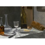 Puzzle  Grafika-Kids-01034 Magnetic Pieces - Claude Monet - Still Life with Bottle, Carafe, Bread, and Wine, 1863