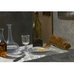 Puzzle  Grafika-Kids-01036 XXL Pieces - Claude Monet - Still Life with Bottle, Carafe, Bread, and Wine, 1863