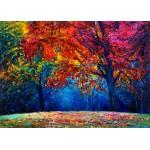 Puzzle  Grafika-Kids-01042 Magnetic Pieces - Autumn Forest