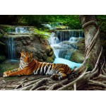 Puzzle  Grafika-Kids-01058 Magnetic Pieces - Tiger