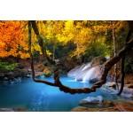 Puzzle  Grafika-Kids-01068 XXL Pieces - Waterfall in Forest