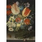 Puzzle  Grafika-Kids-01081 XXL Pieces - Peter Binoit: Still Life with Tulips, 1623