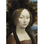 Puzzle  Grafika-Kids-01091 Magnetic Pieces - Leonard de Vinci: Ginevra de' Benci, 1474-1476