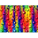Puzzle  Grafika-Kids-01097 Magnetic Pieces - Multicolored Bubbles