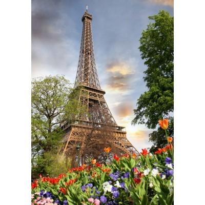Puzzle Grafika-Kids-01112 Eiffel Tower, France
