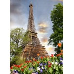 Puzzle  Grafika-Kids-01113 Magnetic Pieces - Eiffel Tower, France