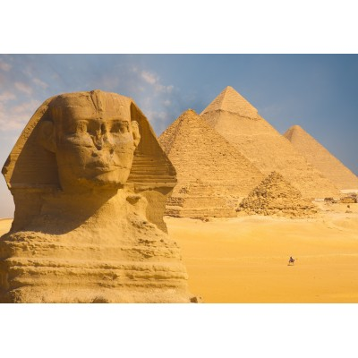 Puzzle Grafika-Kids-01139 Sphinx and Pyramids at Giza