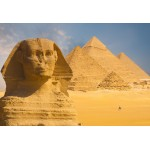 Puzzle  Grafika-Kids-01142 XXL Pieces - Sphinx and Pyramids at Giza