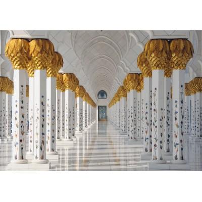 Puzzle Grafika-Kids-01143 Sheikh Zayed Mosque in Abu Dhabi, United Arab Emirates