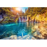 Puzzle  Grafika-Kids-01191 XXL Pieces - Plitvice Lakes National Park, Croatia