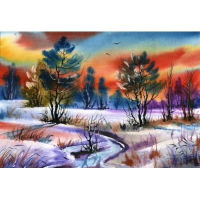 Puzzle Grafika-Kids-01212 XXL Pieces - Winter Water