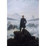 Puzzle  Grafika-Kids-01259 Caspar David Friedrich - Wanderer above the sea of fog, 1818