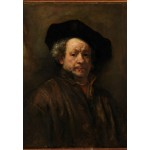 Puzzle  Grafika-Kids-01262 Rembrandt - Self-Portrait, 1660