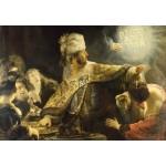 Puzzle  Grafika-Kids-01265 Rembrandt - Belshassar's Feast, 1636-1638