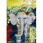 Puzzle  Grafika-Kids-01273 XXL Pieces - Thai Elephant