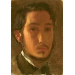 Puzzle  Grafika-Kids-01278 Edgar Degas: Self-Portrait with White Collar, 1857