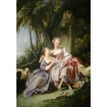 Puzzle  Grafika-Kids-01287 François Boucher : The Love Letter, 1750