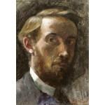 Puzzle  Grafika-Kids-01293 Edouard Vuillard: Self-Portrait, Aged 21, 1889