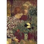 Puzzle  Grafika-Kids-01297 Edouard Vuillard: Woman in a Striped Dress, 1895