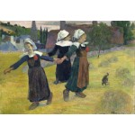Puzzle  Grafika-Kids-01301 Paul Gauguin: Breton Girls Dancing, Pont-Aven, 1888