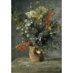 Puzzle  Grafika-Kids-01318 Auguste Renoir : Flowers in a Vase, 1866